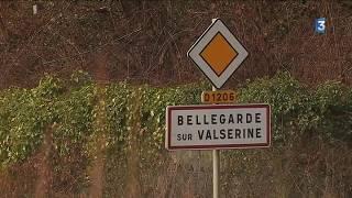 Les effets de la météo près de Bellegarde (Ain)