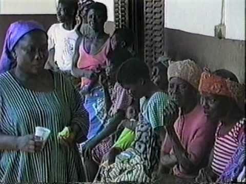 Village Spirulina Farm in West Africa