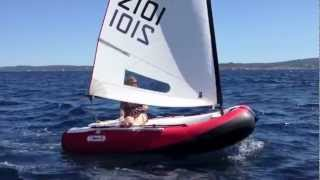 DinghyGo, the inflatable sailboat