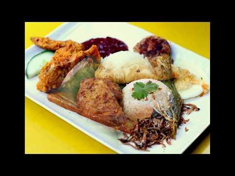 Wonderful Singapore Food Malay food Nasi Lemak (Nazi Lemak)