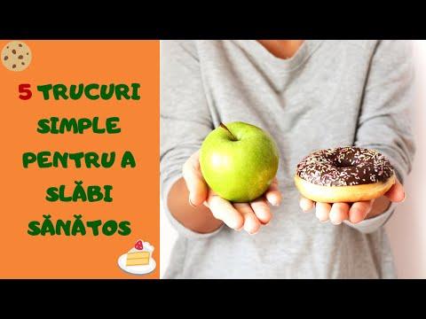 5 Trucuri simple pentru a slăbi sănătos