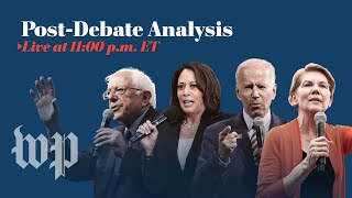 Watch live: Analysis of the fourth Democratic presidential debate