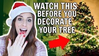 Life-Changing Christmas Tree Hacks