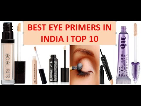 Top 10 Eyeshadow Primers in India with Price