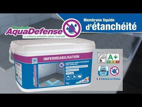 mapelastic aquadefense 7 kg membrane d 39 tanch it sous. Black Bedroom Furniture Sets. Home Design Ideas