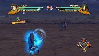 Naruto Ultimate Ninja Storm 3 Full Burst Long Range Hakke Kusho Neji Mod Gameplay (PC w SweetFX)