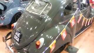 Stanced vw beetle in Vw Show VolksWorld