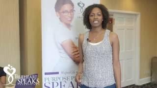 #iSpeakLifeLIVE Atlanta Testimonial: Azie Hudson