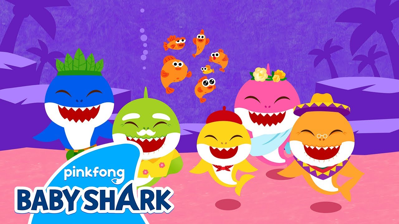 The Ocean Band | Baby Shark StoryTime Theater | Baby Shark Official