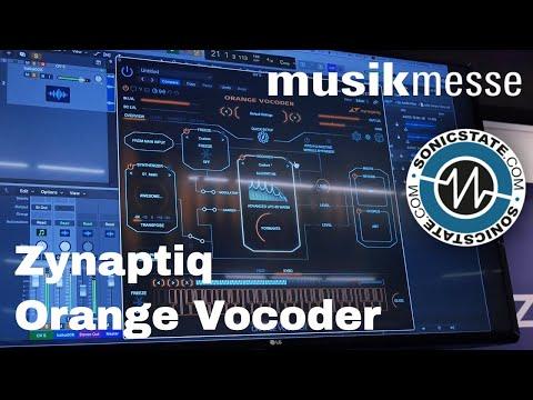 MESSE 2018: Zynaptiq Orange Vocoder 4