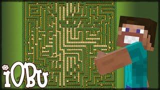 HUGE MAZE 49x49 BLOCKS BIG! - Minecraft Timelapse - Let