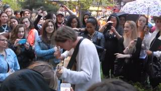 Download Jamie Campbell Bower - Stay With Me - NYC Union Square MP3 song and Music Video
