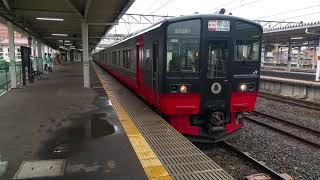 磐越西線719系 フルーティアふくしま 会津若松発車