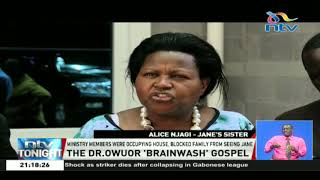 Woman's family accuse Prophet David Owuor of brainwashing her