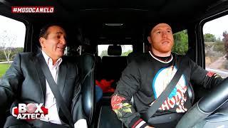 ¡Saúl 'Canelo' Álvarez contó DE TODO en entrevista desde su camioneta!   Box Azteca