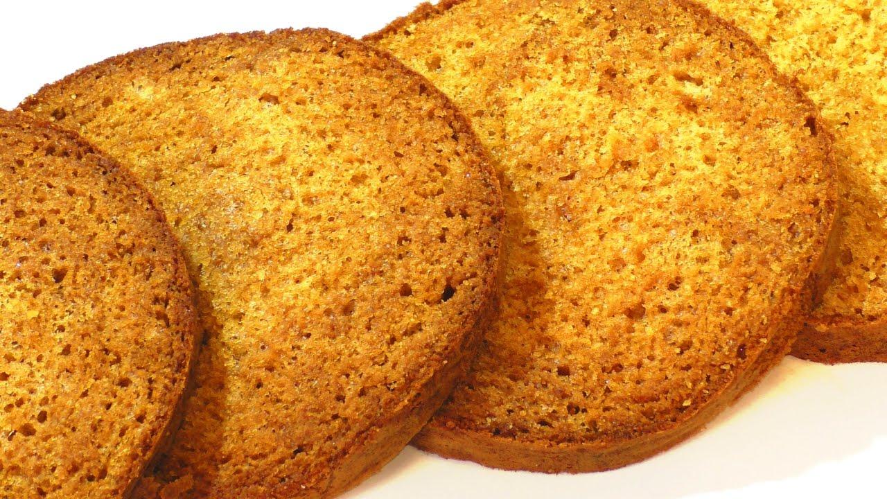 Карамельный бисквит рецепт с фото