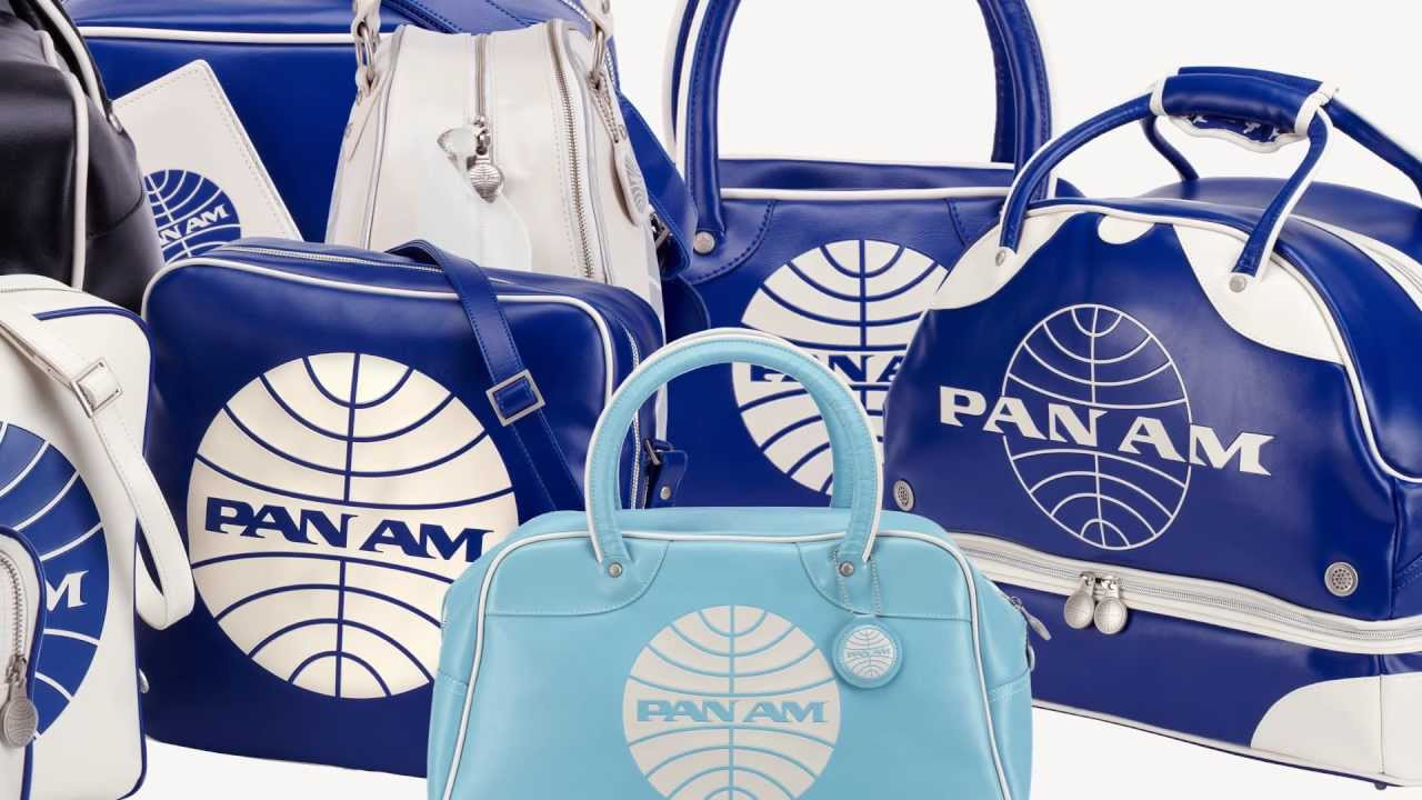 pan am originals bag series youtube. Black Bedroom Furniture Sets. Home Design Ideas