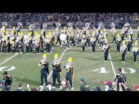 Cal Poly San Luis Obispo Band 10-22-16 homecoming