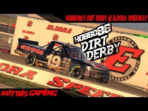 iRacing - HOBBO88's Dirt Derby 2017 @ Eldora Speedway