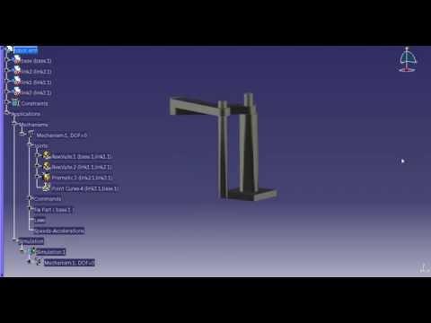 Mehanizam ruke robota (CATIA V5 R21)