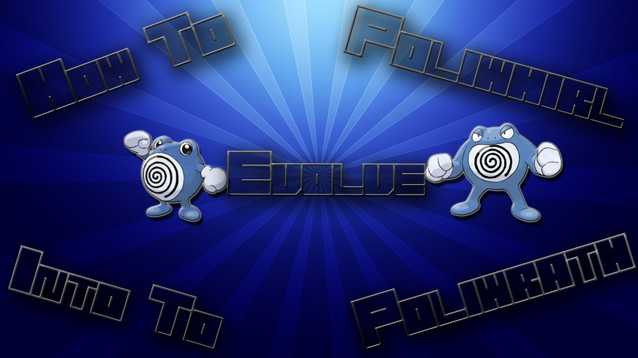 Pokemon soul silver how to evolve a poliwhirl into a - Evolution pokemon argent ...