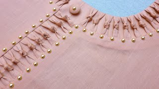 Latest and Unique Easy Neck Design For Kurti/Suit Cutting and Stitching