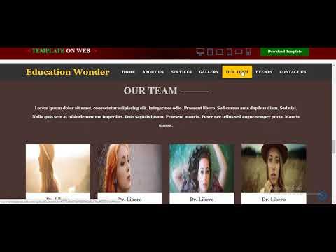 Academic Website Template | Free Education Theme