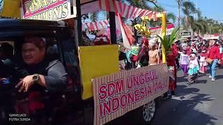 Download lagu Arak arakan Pawai Rakyat HUT RI 74 Sumedang Utara Wonderfull Indonesia 2019 MP3