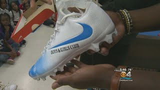 Dolphins RB Kenyan Drake Bringing Awareness To Boys & Girls Club Using NFL Cleat Initiative