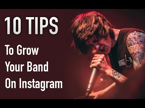 10 Tips to Grow Your Band's Instagram