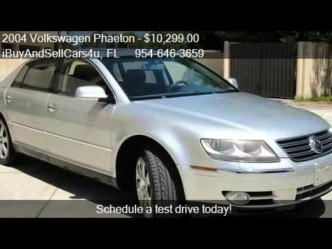 2004 Volkswagen Phaeton V8 - for sale in Miami, FL 33157