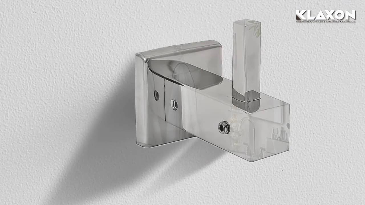If you see this coat hook in the bathroom, get out and call police