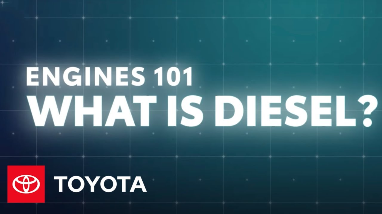 Engines 101: How Does a Diesel Engine Work? | Toyota