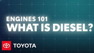 homepage tile video photo for Engines 101: How Does a Diesel Engine Work? | Toyota