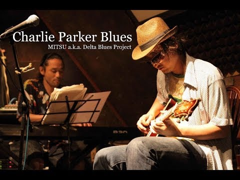 Japanese BLUES-ROCK/ Charlie Parker BLUES - COOL Guitar SOLO! -Full Ver