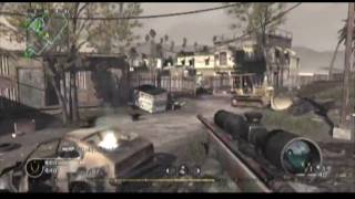 COD4 Sniper Mini Montage - Galactic Abduction
