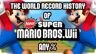 The World Record History of New Super Mario Bros. Wii