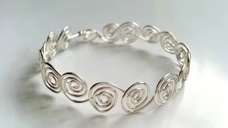 How To Create Swirly Wire Bracelets - DIY Crafts Tutorial - Guidecentral