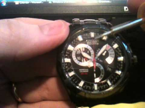 How to set Time & Calendar on Citizen Eco-Drive 8700 BL8097-52E