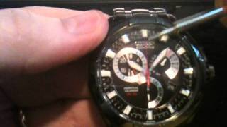 how to set time calendar on citizen eco drive 8700 bl8097 52e