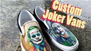 Create Your Own Custom Joker Vans