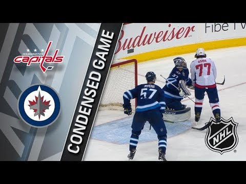 Washington Capitals vs Winnipeg Jets – Feb. 13, 2018 | Game Highlights | NHL 2017/18. Обзор