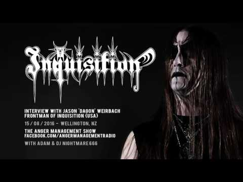 Dagon of INQUISITION (USA) radio interview - 15 August 2016 - Wellington NZ