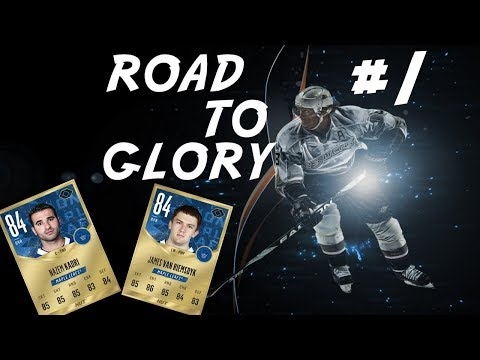 Getting Started-ROAD TO GLORY Ep1-NHL 18 Hockey Ultimate Team