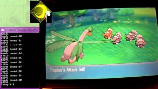 Pokemon ORAS - Shiny Zigzagoon in 91 Hordes using the GamePRo