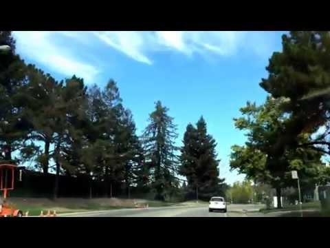 Streets around new Apple campus 9/2014 - Cupertino, California