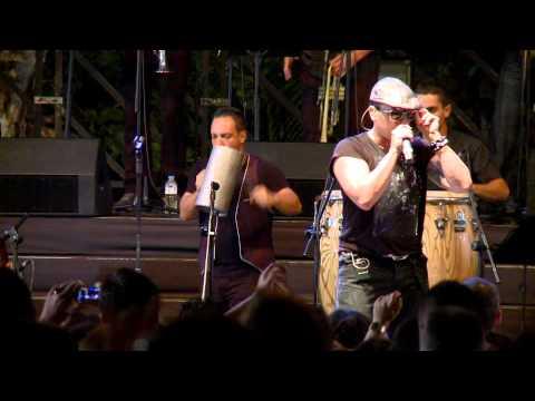 Elvis Crespo en las Fiestas del Cristo de Tacoronte 2012