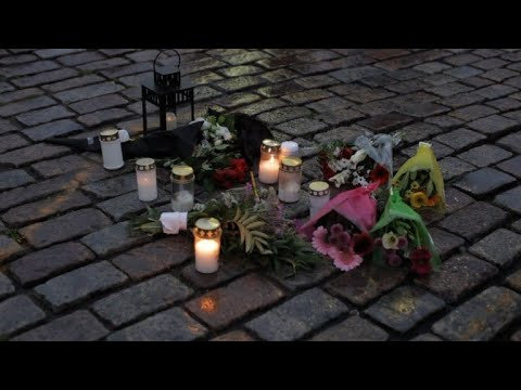 People gather for vigil after Finland stabbing spree
