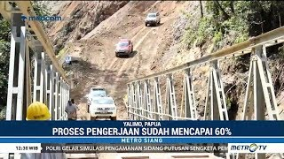Di Papua Jokowi Bikin Jalan Baru 1.982 Kilometer, Warga Bangga Jalan Trans Papua