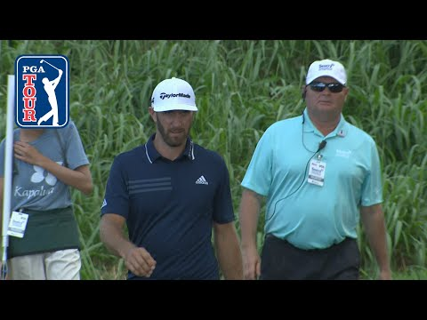 Dustin Johnson nearly holes it from 430 yards at Sentry